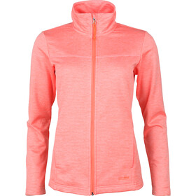 High Colorado Morgano Waffle Fleece Jacket Women neon peach